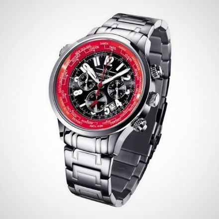 Afbeeldingen van Firefox Worldtimer FFS40-105 Horloge