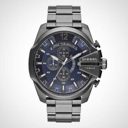 Afbeeldingen van Diesel horloge Chief DZ4329 - Staal - Grijs