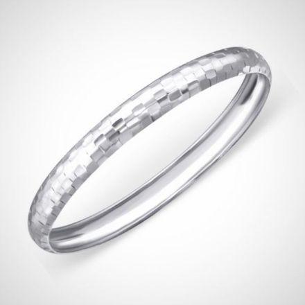 Afbeeldingen van sterling zilveren armband - rond