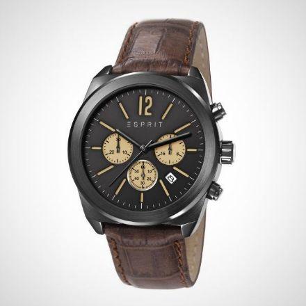 Afbeeldingen van Esprit ES107571003 - herenhorloge - 42 mm - bruin
