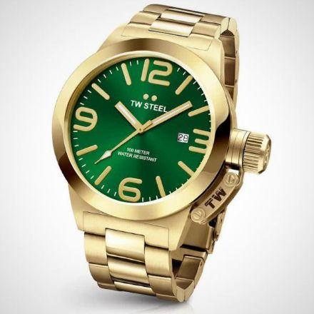 Afbeeldingen van TW Steel horloge - CB221 Canteen Bracelet - herenhorloge - 45mm