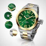 Afbeeldingen van TW Steel horloge - CB62 Canteen Bracelet - herenhorloge - Canteen Bracelet Collection - Horloge - Staal - 50 mm - Zilverkleurig