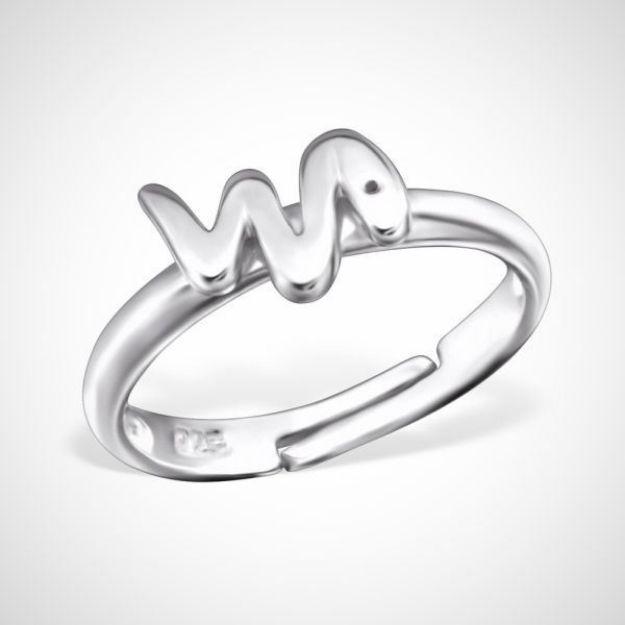 Afbeeldingen van 925 sterling zilveren ring - slang