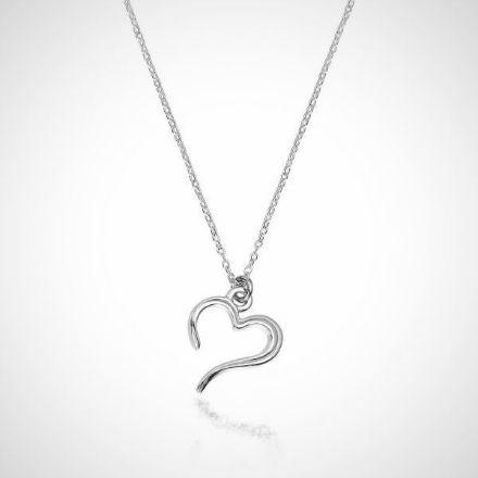 zilveren hanger pendant hart