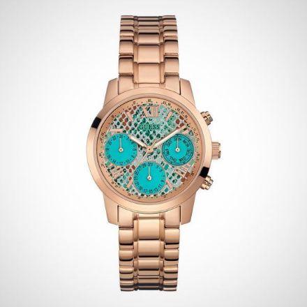 Afbeeldingen van Guess W0448L8 Ladies Sport - Horloge- 36.5 mm- Rosékleurig